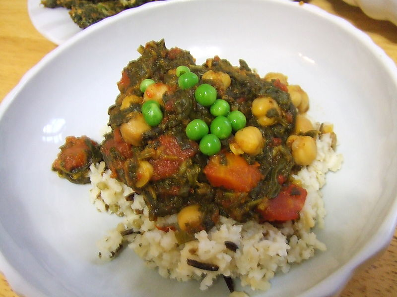 Spinach chickpea curry_jac