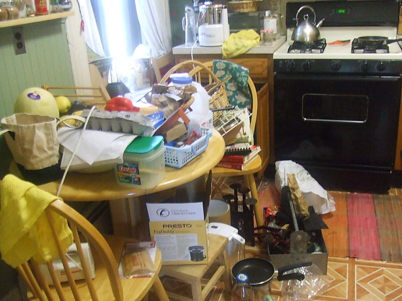 Kitchen clean out