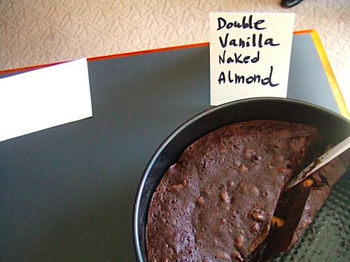 Double Vanilla Naked Almond Brownies