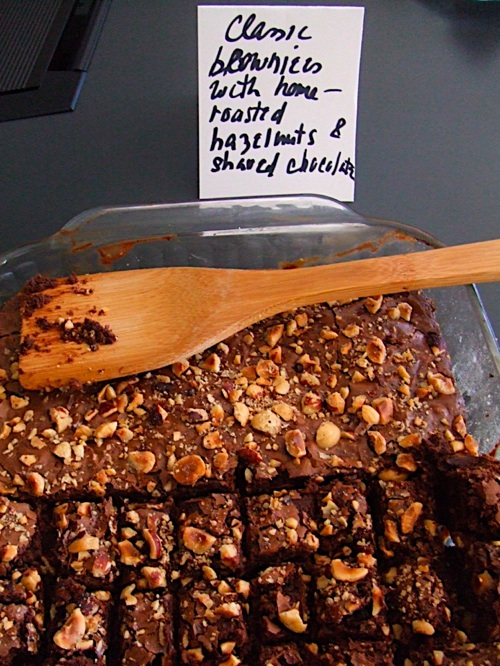 Classic Brownies with Hazelnuts