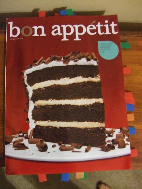 Bon Appetit December 2008