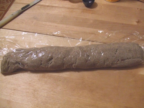 Buckwheat cookie dough