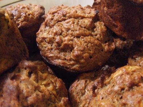 Muffins close up