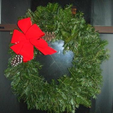 First homemade wreath