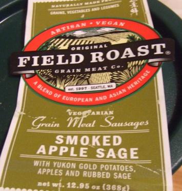 Field roast vegan sausage