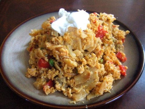 Plated migas