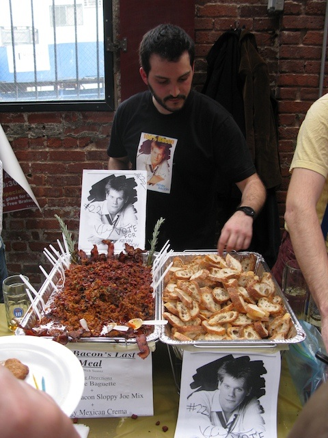 Bacon sloppy joes