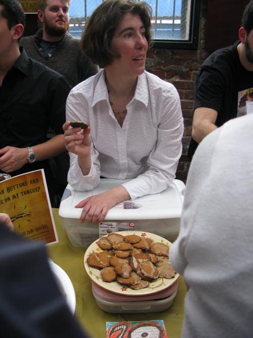 Bacon apple caramel cookies