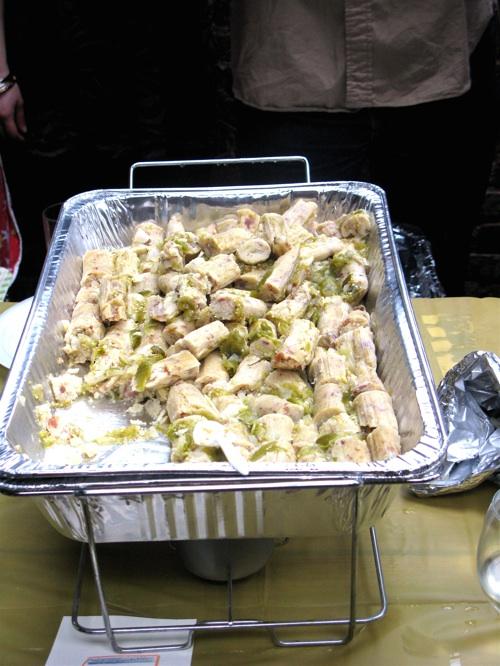 Bacon tamales