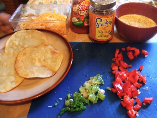 Migas ingredients